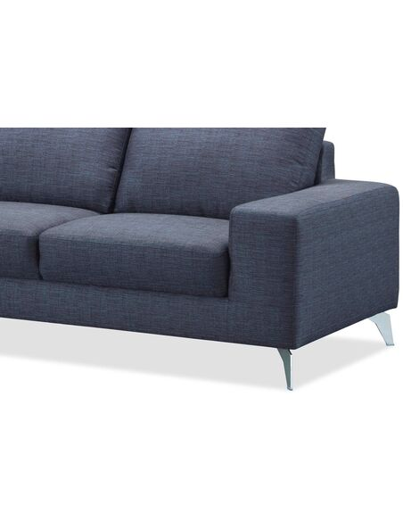 Canapé d'angle WALK CHABLIS tissu angle Gauche - par Delorm