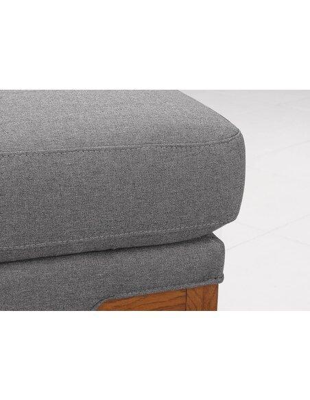 Canapé d'angle SUN SEASON tissu angle Gauche - par Delorm