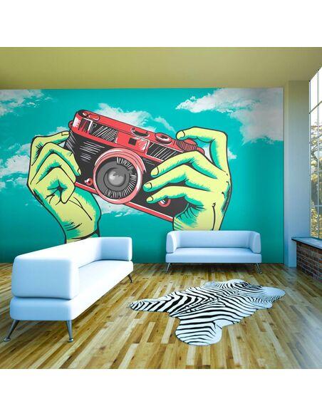 Papier peint APPAREIL PHOTO - par Artgeist