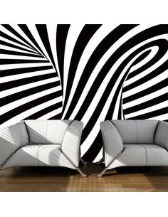 Papier peint ART OPTIQUE: EN N&B - par Artgeist