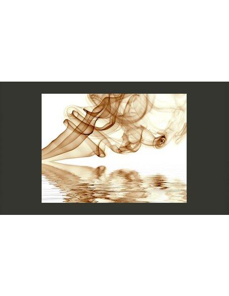 Papier peint SMOKE CURLS - par Artgeist