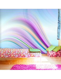 Papier peint RAINBOW ABSTRACT BACKGROUND - par Artgeist