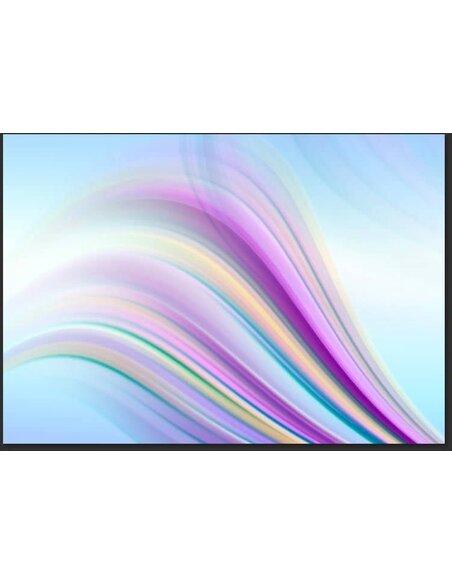 Papier peint RAINBOW ABSTRACT BACKGROUND - par Artgeist