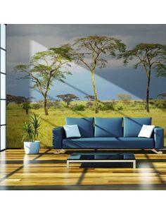 Papier peint SAVANNA TREES - par Artgeist