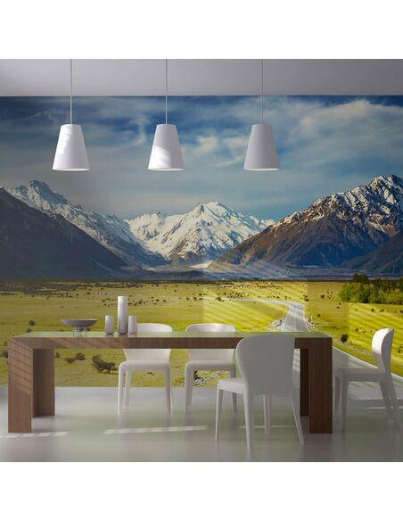 Papier peint SOUTHERN ALPS, NEW ZEALAND - par Artgeist