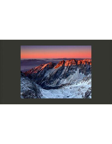 Papier peint BEAUTIFUL SUNRISE IN THE ROCKY MOUNTAINS - par Artgeist