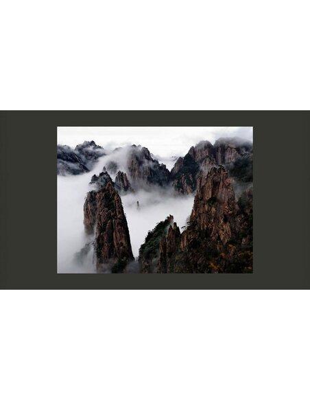 Papier peint MER DE NUAGES, MONTS HUANG SHAN, CHINE - par Artgeist