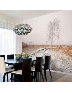 Papier peint WINTER FIELD - par Artgeist