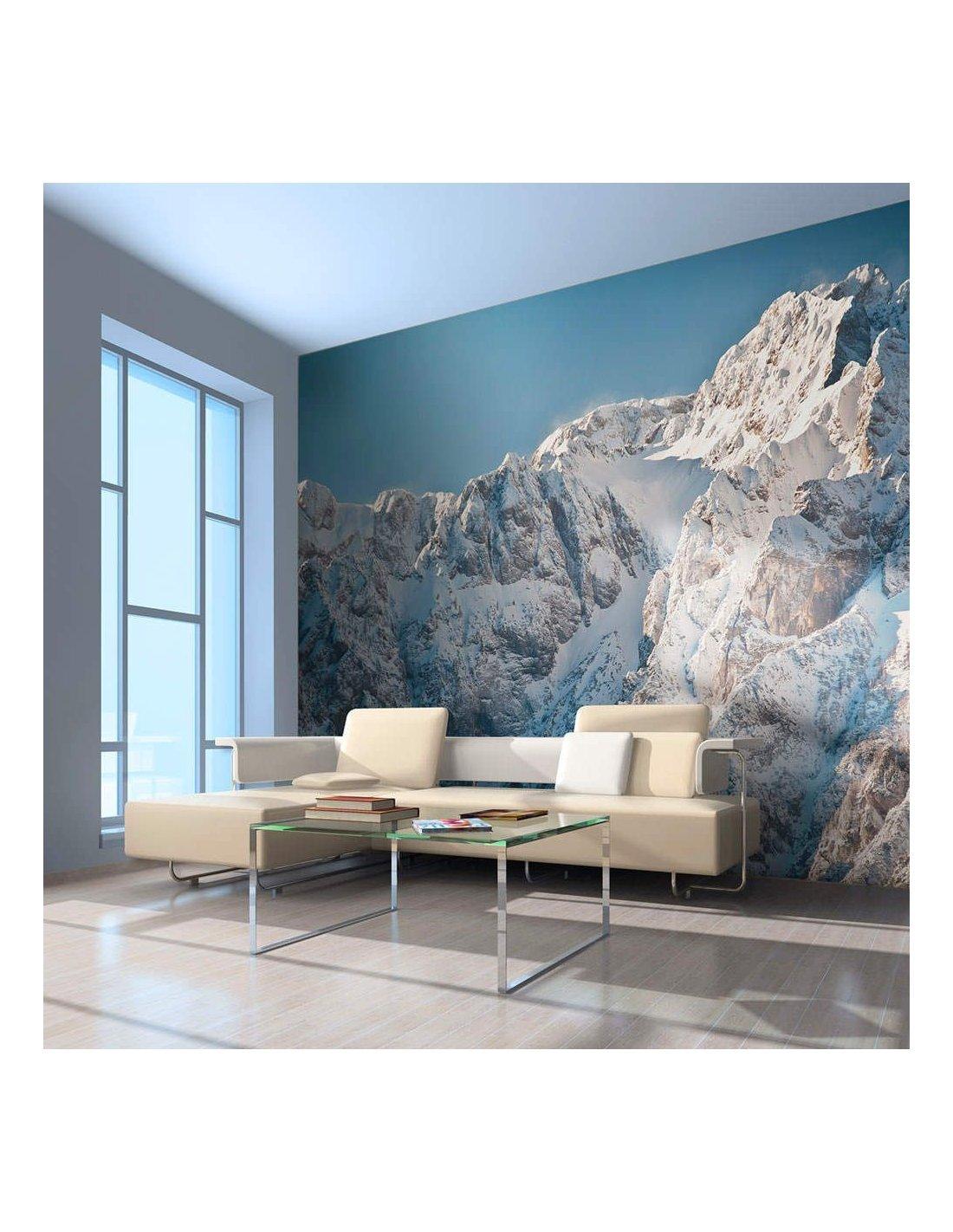 Papier Peint Paysage Enneige Alpes A 89 90 Chez Recollection