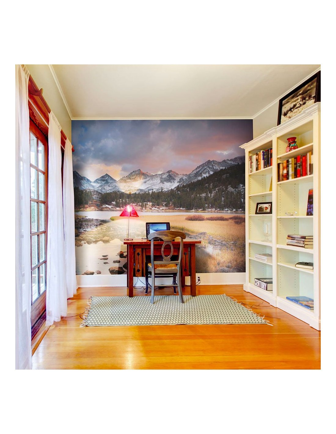 Papier Peint Paysage De Montagne Printemps Arrive A 89 90 Chez R