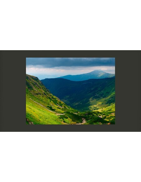 Papier peint GREEN MOUNTAIN LANDSCAPE - par Artgeist