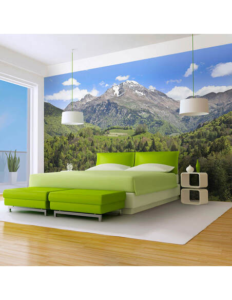 Papier peint HOLIDAY IN THE MOUNTAINS - par Artgeist