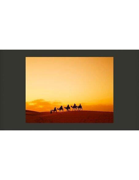 Papier peint SUR LA ROUTE DES CARAVANES DU SAHARA - par Artgeist