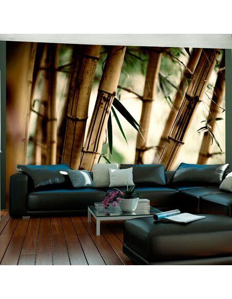 Papier peint FOG AND BAMBOO FOREST - par Artgeist