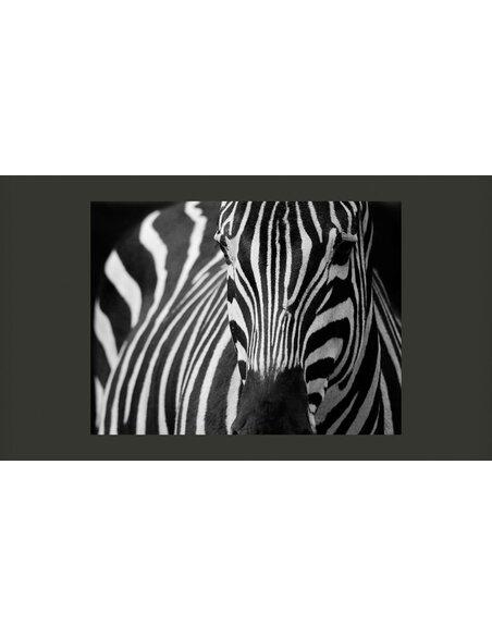papier peint blanc rayures noires 89 90 chez. Black Bedroom Furniture Sets. Home Design Ideas
