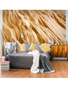 Papier peint WAVY SANDSTONE FORMS - par Artgeist