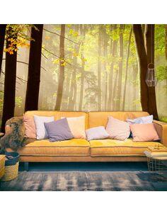 Papier peint MYSTERIOUS FOREST PATH - par Artgeist
