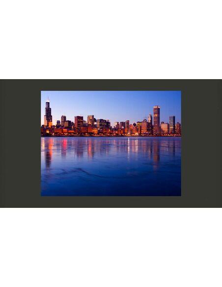 Papier peint ICY DOWNTOWN CHICAGO - par Artgeist