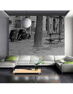 Papier peint BALADE À PARIS - par Artgeist