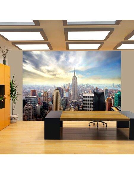 Papier peint VIEW ON EMPIRE STATE BUILDING NYC - par Artgeist