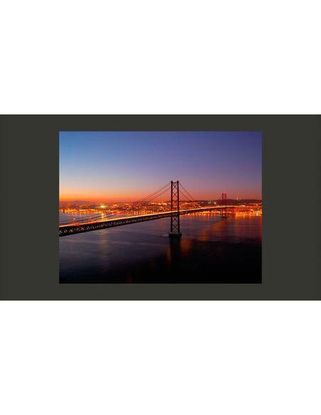 Papier peint BAY BRIDGE SAN FRANCISCO - par Artgeist