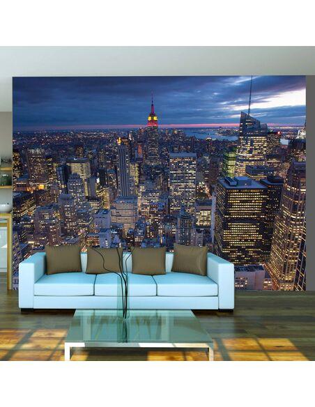 Papier peint NEW YORK NUIT - par Artgeist
