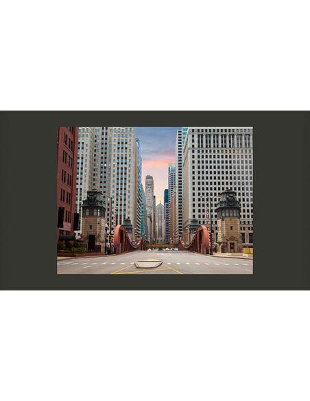 Papier peint CHICAGO STREET - par Artgeist