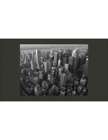 Papier peint NEW YORK: GRATTE-CIELS VUE À VOL D'OISEAU - par Artgeist