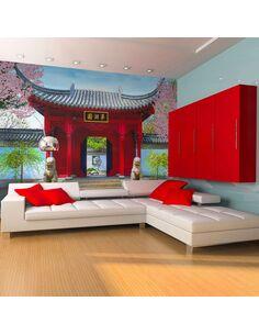 Papier peint CHINESE BOTANICAL GARDEN OF MONTREAL QUEBEC CANADA - par Artgeist