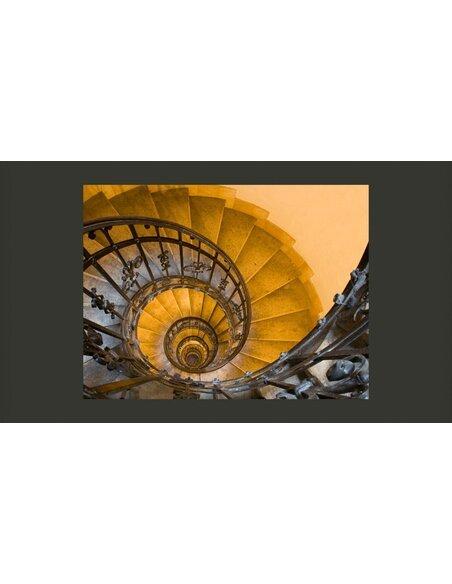 Papier peint STONE STEPS IN ANCIENT TOWER - par Artgeist