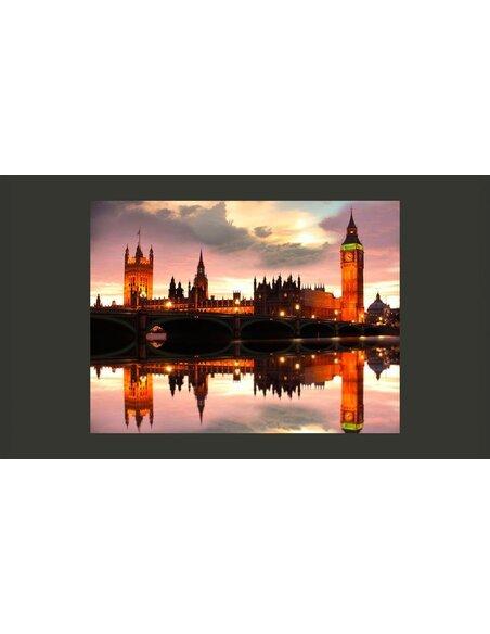 Papier peint SOIRÉE À LONDRES, BIG BEN - par Artgeist