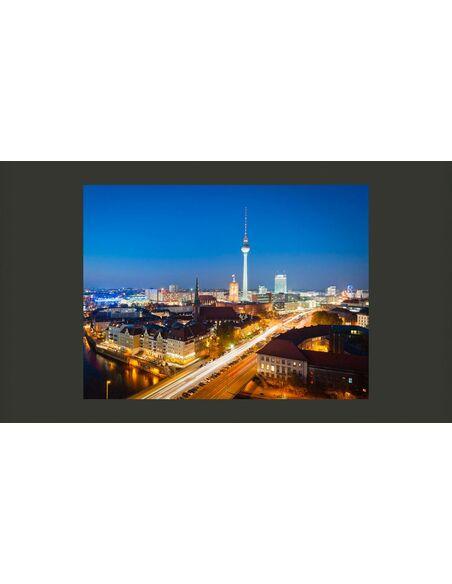 Papier peint BERLIN BY NIGHT - par Artgeist