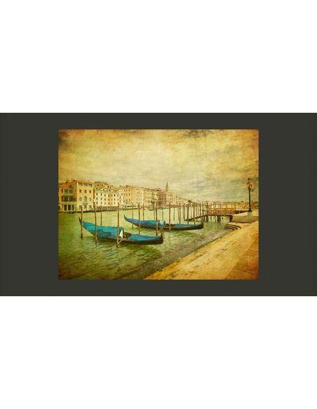 Papier peint GRAND CANAL, VENICE VINTAGE - par Artgeist