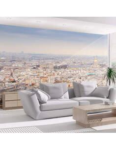 Papier peint PARIS VUE À VOL D'OISEAU - par Artgeist