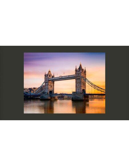 Papier peint TOWER BRIDGE À L'AUBE - par Artgeist