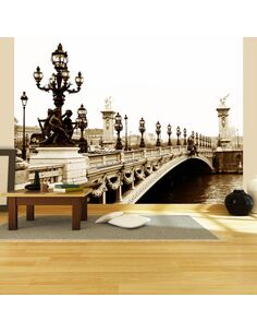 Papier peint PONT ALEXANDRE III, PARIS - par Artgeist