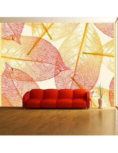 Papier peint FEUILLES D'AUTOMNE - par Artgeist