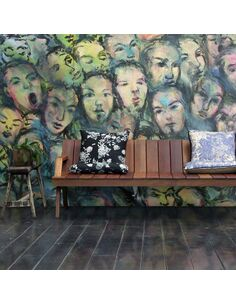Papier peint BERLIN WALL ART - par Artgeist