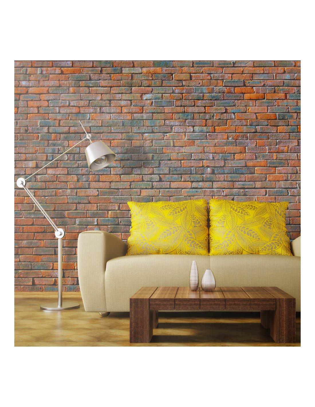 papier peint mur en briques 89 90 chez recollection. Black Bedroom Furniture Sets. Home Design Ideas