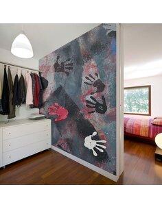 Papier peint GRAFFITI: BERLIN STREET ART - par Artgeist