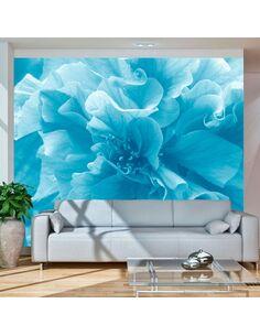 Papier peint BLUE AZALEA - par Artgeist