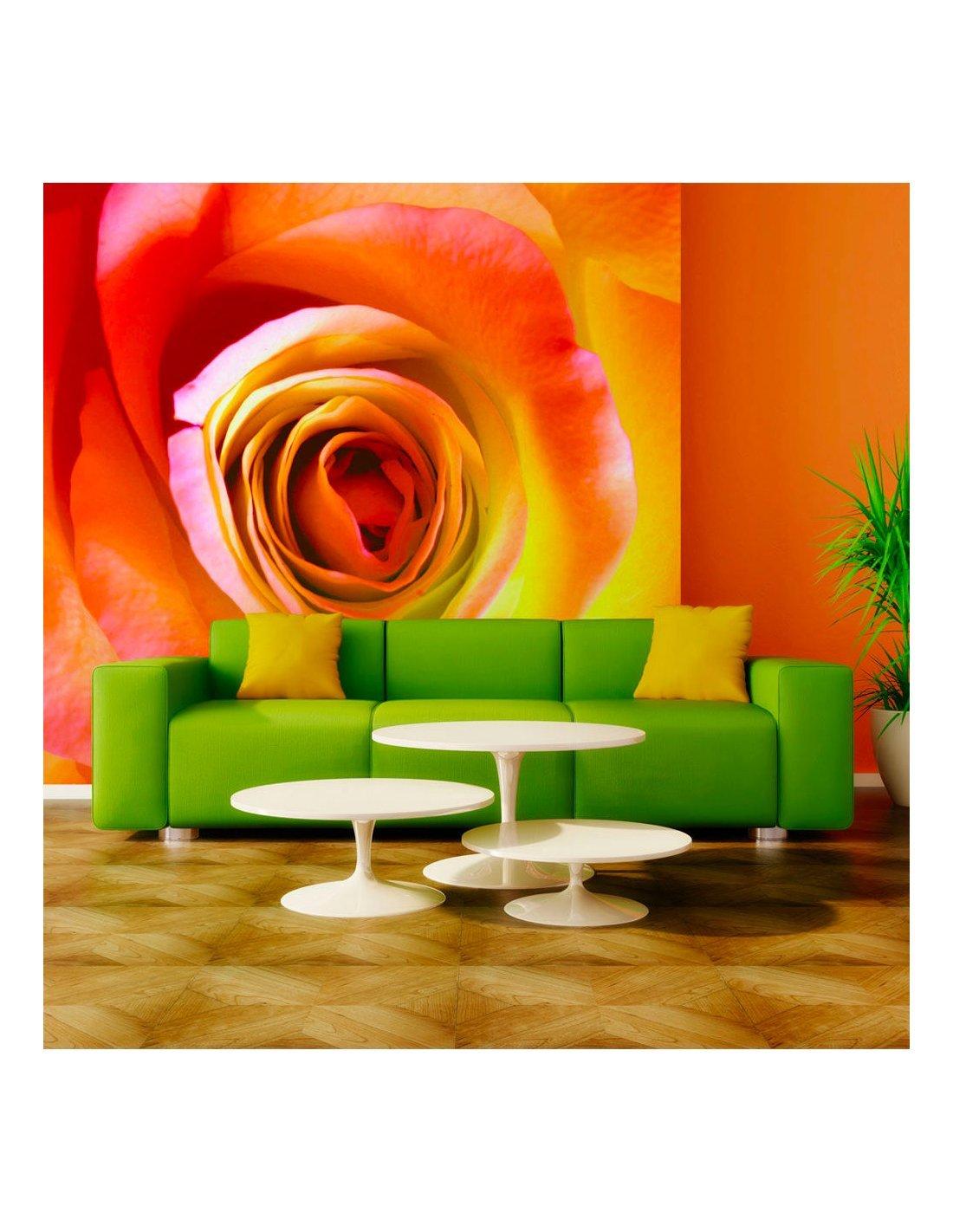 papier peint rose du d sert artgeist. Black Bedroom Furniture Sets. Home Design Ideas
