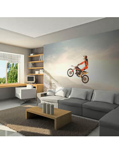 Papier peint SPORT MOTOCYCLISTE - par Artgeist