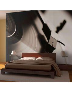Papier peint GRAMOPHONE ET DISQUE VINYLE - par Artgeist