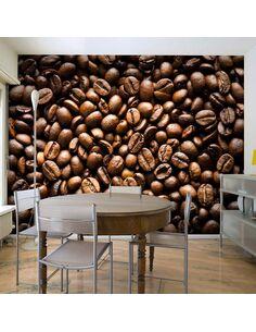 Papier peint ROASTED COFFEE BEANS - par Artgeist