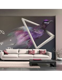 Papier peint OISEAU ABSTRACTION - par Artgeist
