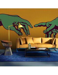 Papier peint GREEN TOUCH - par Artgeist