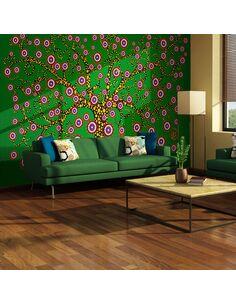 Papier Peint Abstraction: Arbre (Vert)  Arbres Artgeist