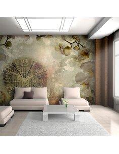 Papier peint HORLOGE VINTAGE - par Artgeist