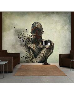 Papier peint INTERNAL EXPLOSION - par Artgeist